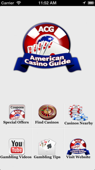 American Casino Guide app